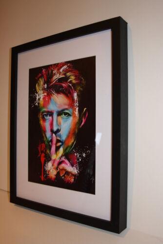DAVID BOWIE RARE ART WORK PHOTO A4 GLOSSY UNFRAMED GLAM ROCK POP MUSIC LEGEND