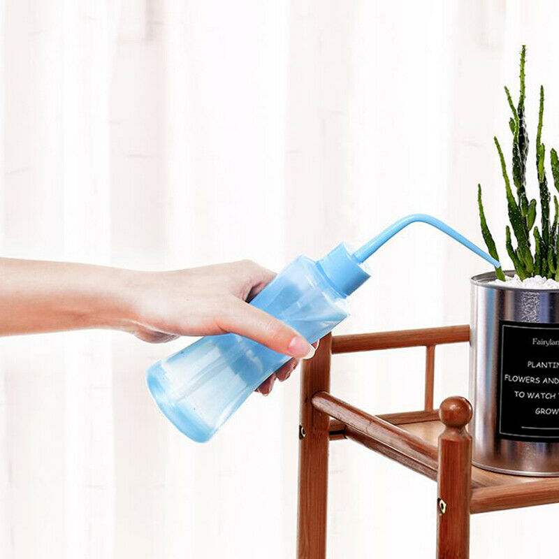 Transparent Flower Watering Bottle for Garden Indoor Squeeze Cans Multi-meat_SI