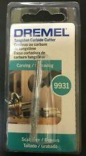 """0869289 DREMEL 9931 pourriture Outil 1//4/"""" structuré dent Tungsten Carbide cutter P.J"""