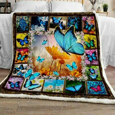 Butterfly Sofa Fleece Blanket 50-80