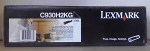 ORIGINALE-Lexmark-c930h2kg-TONER-BLACK-PER-c935-DN-DTN-HDT-OVP-B