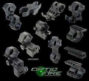 Opticfire-Hunting-lamp-gun-scope-torch-mount-dovetail-weaver-picatinny-rail