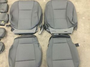 2019 F150 OEM FACTORY BLACK SEAT COVERS XLT SUPER CREW BUCKETS