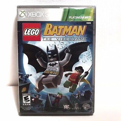 Lego Batman The Videogame - XBOX 360 - 1P 2P Co-Op ...