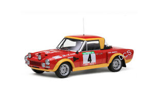 Sunstar Fiat 124 Abarth Rallye # 4 Portugal 1974 1/18