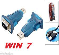 USB TO SERIAL RS232 ADAPTER CONVERTER WINDOWS 7 8 10 VISTA MAC LINUX DB9 PDA 64