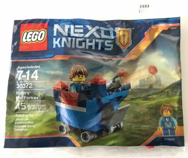 polybag LEGO ® 30372 Nexo Knights Robins Mini fortrex