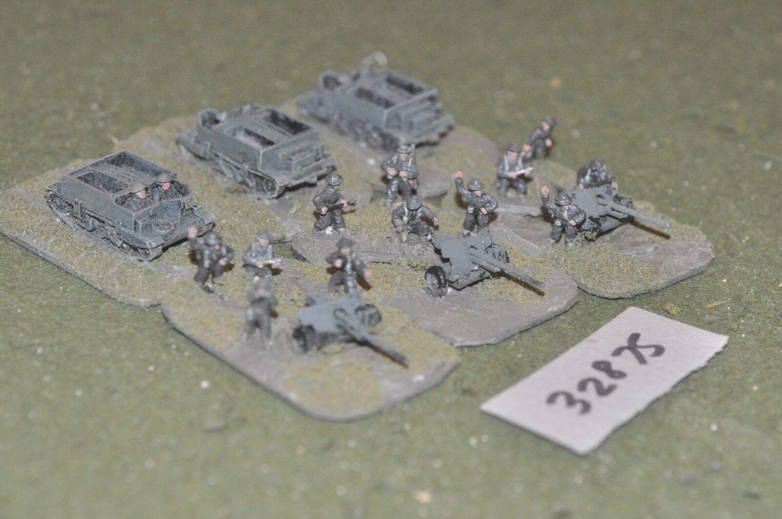 15mm WW2   allied - 3 guns & tows - art (32875)