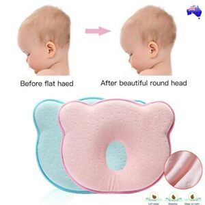 Baby-Infant-Newborn-Memory-Foam-Pillow-Prevent-Flat-Head-Neck-Syndrome-Support