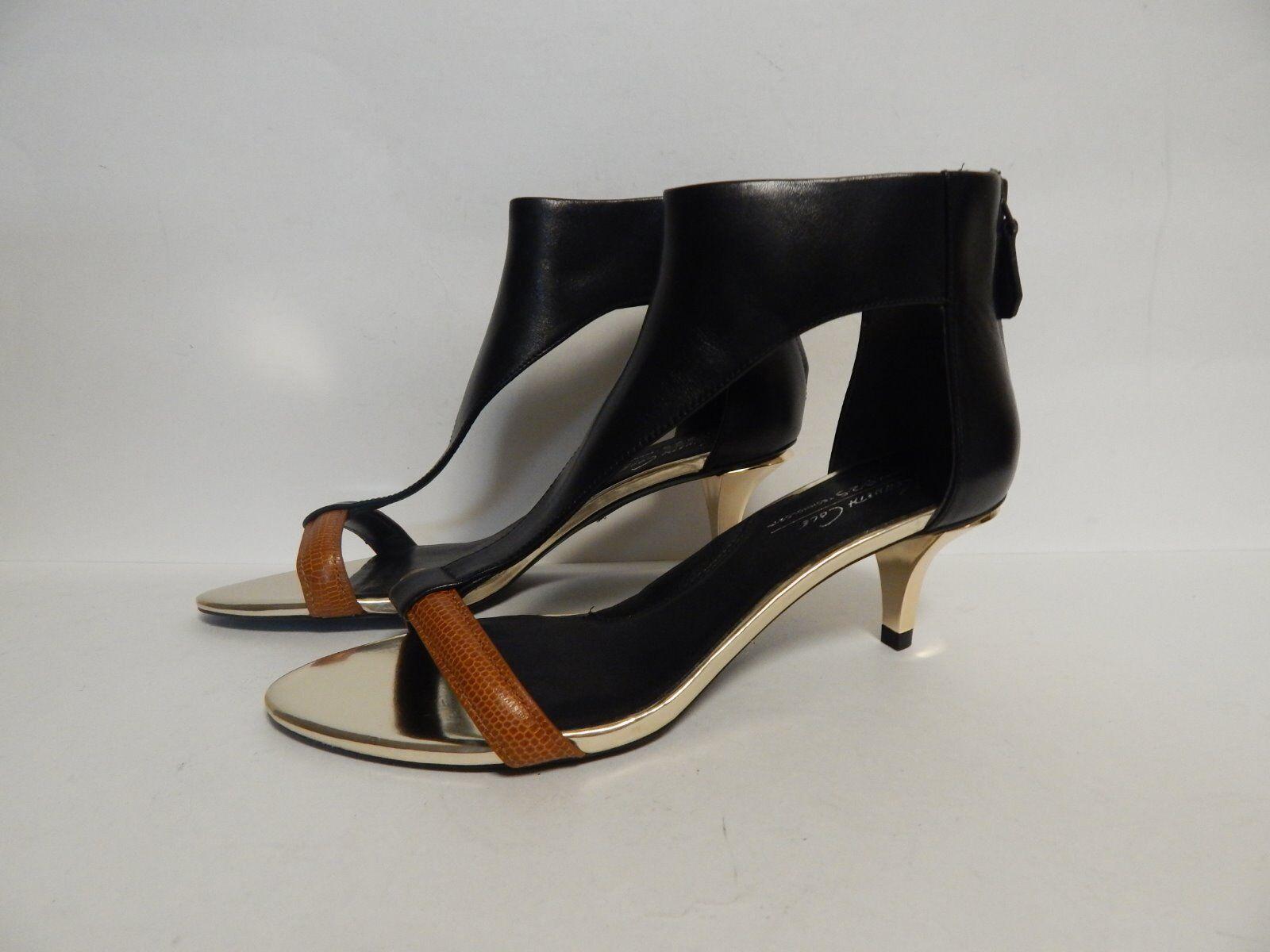 Kenneth Cole Havemeyer Leather Sandal nero New con  Box  spedizione veloce e miglior servizio