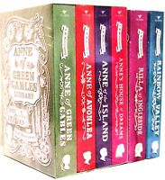 Anne Of Green Gables,avonlea,island,house Dreams,rainbow Valley + (pb) 6 Bk Set