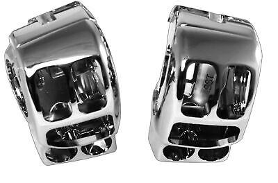 Kuryakyn 1740 Brake /& Clutch Control Dress-Up Cover Kit Harley 08-13 FLH// Chrome