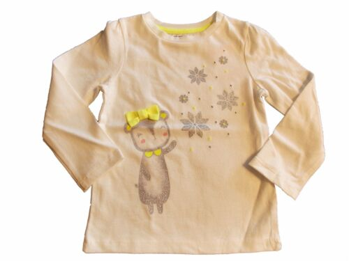 NWT Girl/'s Gymboree Cozy Ski Lodge bear long sleeve shirt ~ 18-24 months 3T 4T