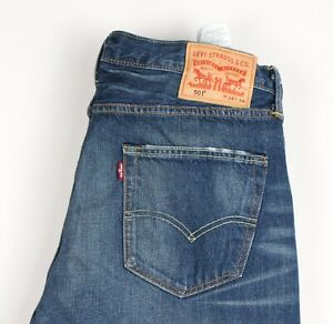 Levi's Strauss & Co Hommes 501 Jeans Jambe Droite Taille W34 L34 AVZ234