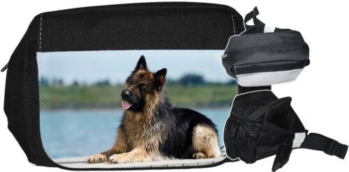 Deutscher SCHÄFERHUND DSH 09 GÜRTELTASCHE Bauchtasche Hüfttasche Bag Tasche