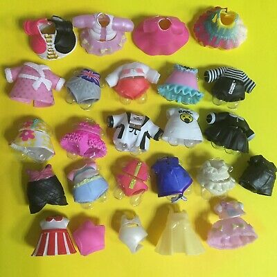 Lot 10 Genuine Outfit Dresses clothes accessories for LOL Surprise dolls toy