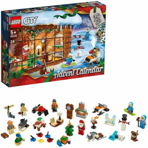 LEGO® City 60235 Adventskalender Weihnachten Bauset Original NEU OVP