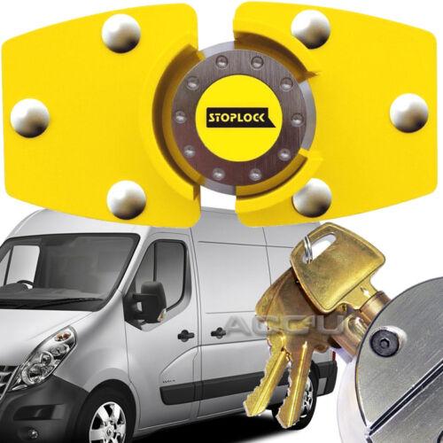 Stoplock High Security Yellow Anti Theft Van Door Lock with Hasps Padlock 3 Keys