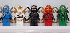 NEW LEGO NINJAGO: KAI COLE JAY ZANE LLOYD GREEN ZX Minifigs Minifigures ZX Ninja