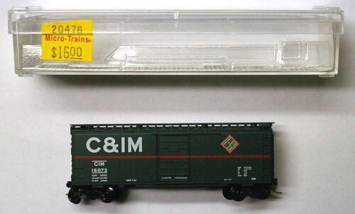 MTL Micro-Trains 20476 Chicago Illinois Midland CIM 16073