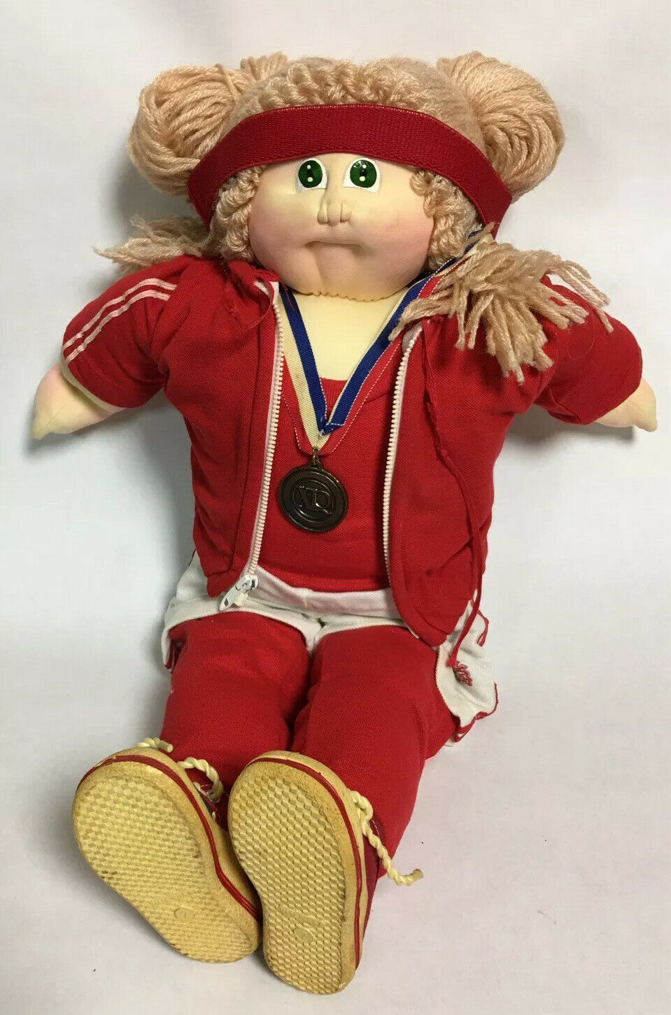 Cabbage Patch 1984 World Class Edition Xavier Roberts Soft Sculpture Doll Track