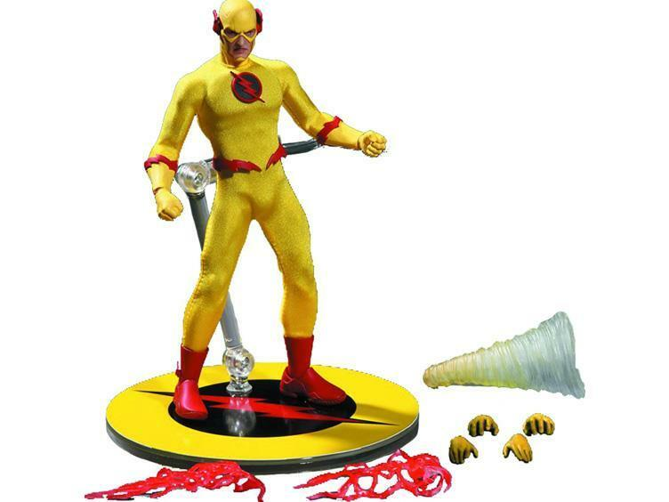 PREVIEWS EX.. ZOOM ONE 12 COLLECTIVE Acción Figura MEZCO FLASH DC FLASHPOINT