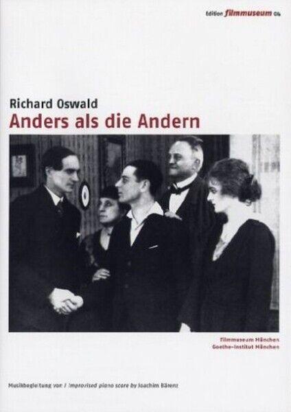 ANDERS ALS DIE ANDERN-EDITIO - EDITION FILMMUSEUM 04   DVD NEW