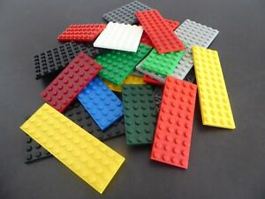 LEGO-12-Platten-duenn-Bauplatten-rechteckig-Basic-City-Haus-Konvolut-kg-ANGEBOT