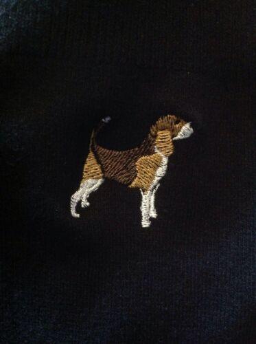 Mens POLO 8 sizes 11 colours Embroidered BEAGLE  DOG DESIGN