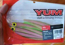 "YSR4220 Electric Chicken Yum  SWURM Soft Jerkbait 4.75/""  7 per Bag"