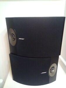 Bose 301 Black Series V Direct/Reflecting Speakers