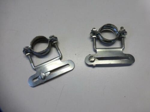 2 Stück Fahrrad Kettenschutzhalter verstellbar Oldtimer NOS