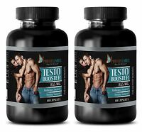 Fenugreek Extract - Testo Booster 855mg - Male Enhancers - 2 Bottles 120 Capsule