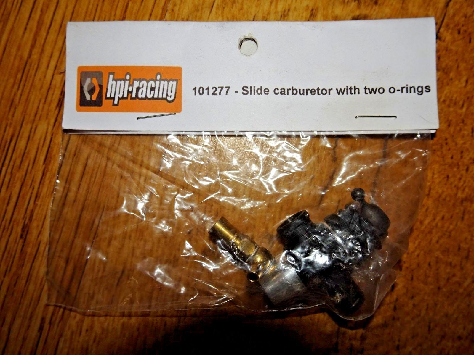 HPI - 101277 - Slide carburetor with two o-rings - NEW