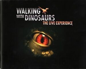 WALKING-WITH-DINOSAURS-2008-THE-LIVE-EXPERIENCE-TOUR-PROGRAM-BOOK-NMT-2-MINT