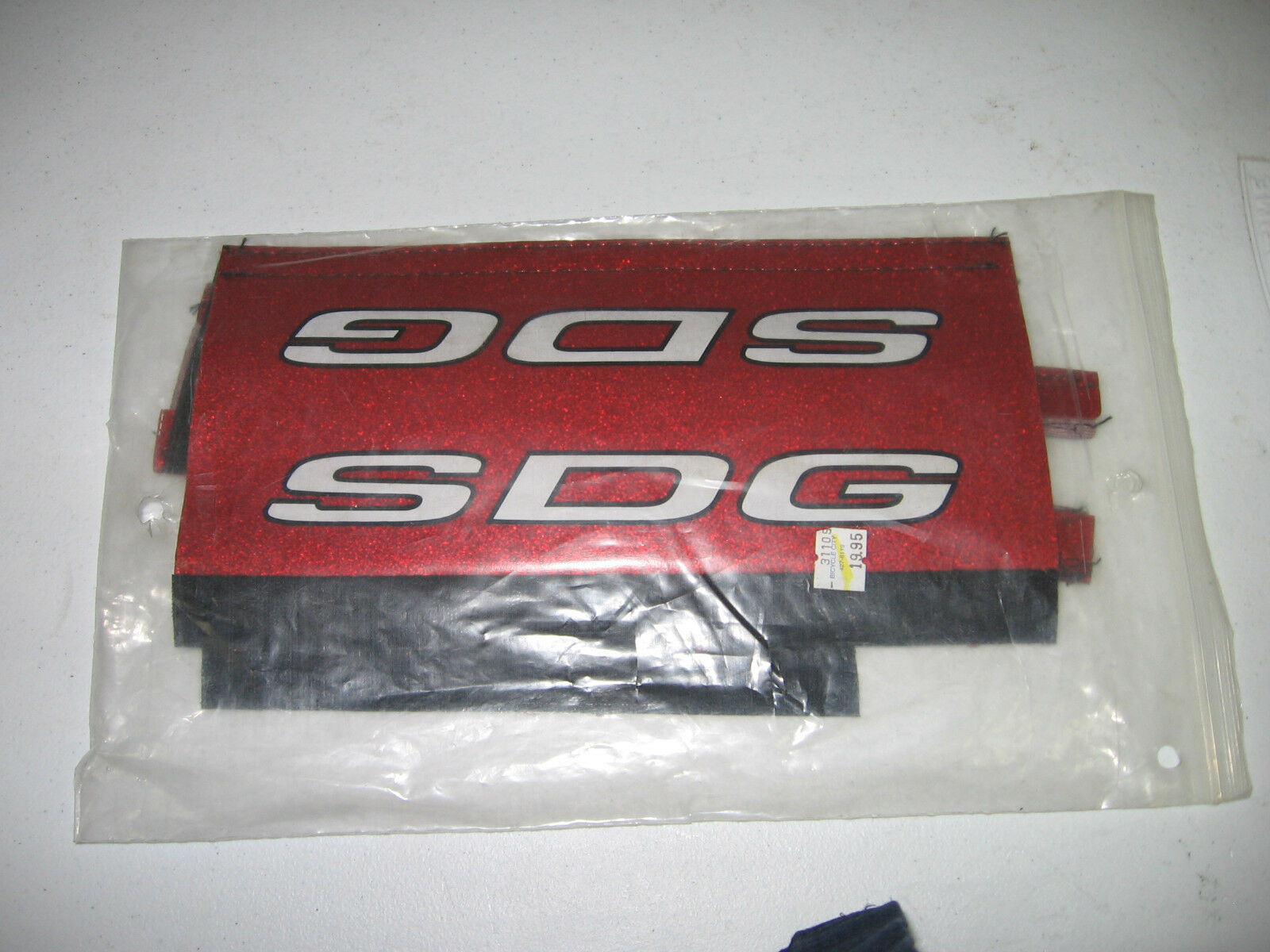 NOS red SDG pad set
