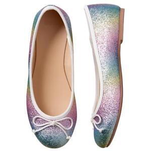 NWT Gymboree Spring Forward Rainbow Sparkle Flats Shoes Girls 9,10,13,1,2,3,<wbr/>4