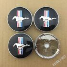 NEW Ford Mustang Running Horse & Tri-Bar Pony Center Caps 60 MM (Set of 4)
