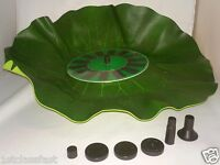 Cordless Floating Lily Pad Solar Power Water Fountain Fish Pond Pool Spray Pump