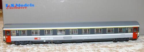 HS L.S.Models 47 309 Eurofima Wagen  1.Kl. SBB  grau/d´grau 90 503-7  HO
