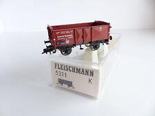 FLEISCHMANN WAGON TOMBEREAU TYPE O DE LA DRG REF 5211 K