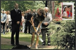 CANADA Sc# 2478 KATE & WILLIAM ROYAL VISIT to OTTAWA, CANADA MAXICARD # 5