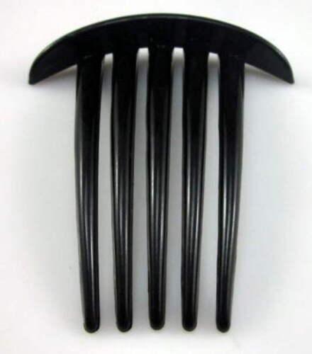 """Noir 3 Simple x3/"""" Cheveux Peigne twistor cheveux épais à 5 broches plastique diapositive décorer"""