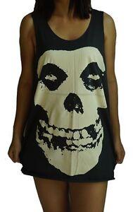 ec95fd6b5f981 Misfits Vest Tank Top Singlet Dress T-Shirt Mens Womens Ladies