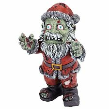 CL6691 - Zombie Santa Claus Christmas Holiday Statue -Hand Painted Walking Dead!