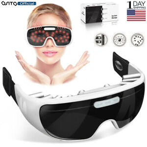 OSITO Eye Massager Magnetic Vibration Tample Pain Relieve Eye Fatigue Machine