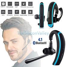 Wireless 4.1 Bluetooth Stereo Handsfree Headset Earphone for iPhone Samsung SONY