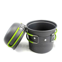 Outdoor Cookware Cook Pot Bowl Set For Hiking Camping Picnic High Performance