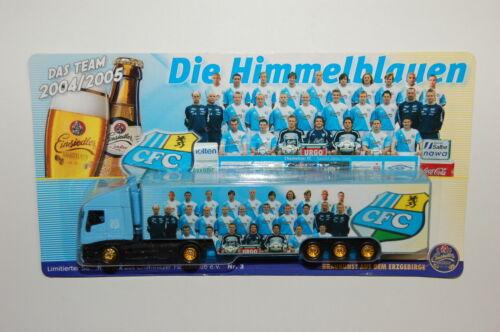 Werbetruck  Sattelzug Einsiedler  Chemnitzer FC  Nr. 3  1:87  Spur H0 - 3