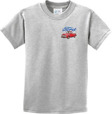 FORD FOMOCO Licensed Kids Youth Graphic Tee Shirt SM-XL SZ 6-20